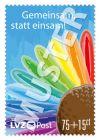"""Spendenmarke """"Gemeinsam, statt einsam"""" 0,75 €"""