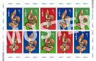 Sonderbriefmarke 0,50 € Ostern 2021 (Bogen)