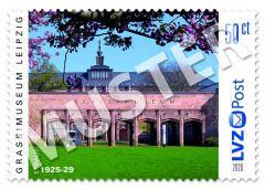 Sonderbriefmarke 0,50 € GRASSI Museum 2020