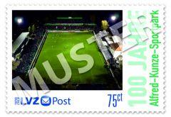 Sonderbriefmarke 0,75 € 100 Jahre Alfred-Kunze-Sportpark