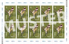 Briefmarke 0,90 € Heimische Vögel (Bogen)