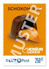 """Briefmarke 2,50 € Konsum """"Freche Früchtchen"""""""