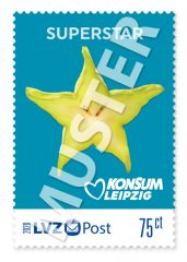 """Briefmarke 0,75 € Konsum """"Freche Früchtchen"""""""