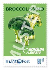 """Briefmarke 0,90 € Konsum """"Freche Früchtchen"""""""
