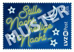 Sondermarke 0,50 € Weihnachtslieder