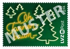 Sondermarke 0,75 € Weihnachtslieder