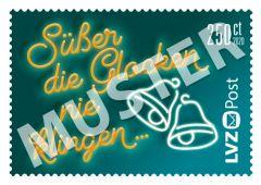 Sondermarke 2,50 € Weihnachtslieder