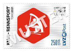 Sonderbriefmarke Team für Tokio 2021 2,50 € Kanu-Rennsport