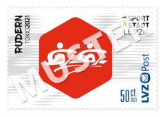 Sonderbriefmarke Team für Tokio 2021 0,50 € Rudern