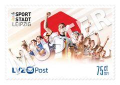 Sonderbriefmarke 0,75 € Team für Tokio 21 – Team