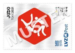 Sonderbriefmarke Team für Tokio 2021 0,90 € Judo