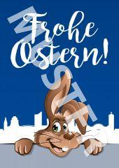 Postkarte 1,00 € Ostern 2021